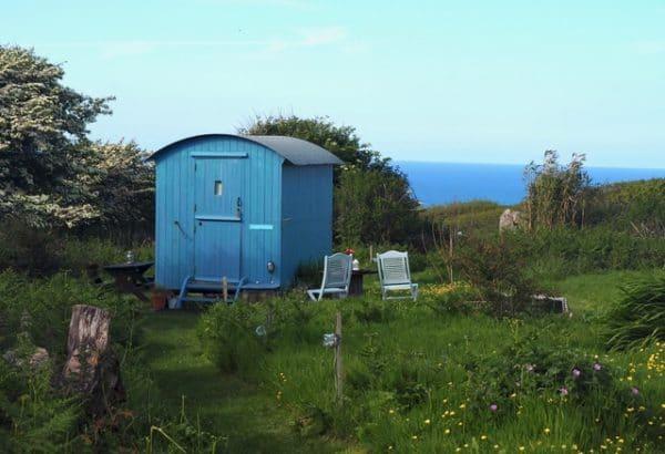 Shepherds Hut at St Ives Glamping